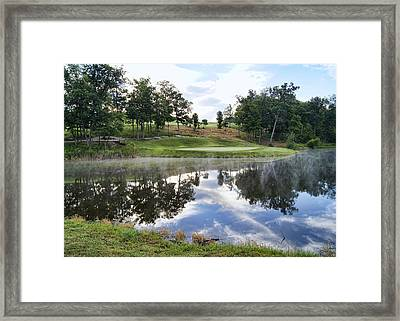 Eagle Knoll Golf Club - Hole Six Framed Print