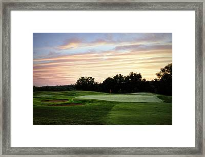 Eagle Knoll Golf Club - Hole Ten Framed Print