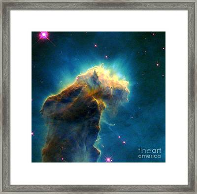 Eagle M16-ngc 6611-eagle Nebula Framed Print by Science Source