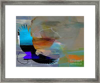 Eagle Framed Print by Marvin Blaine