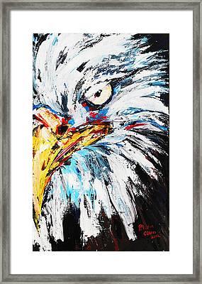 Eagle Framed Print by Patricia Olson