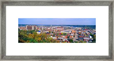 Eagle Point Park, Dubuque, Iowa Framed Print by Panoramic Images