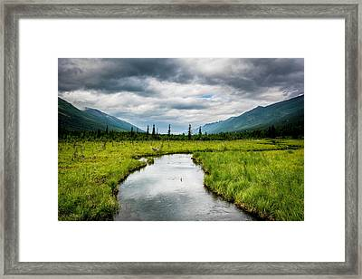 Eagle River Nature Center Framed Print