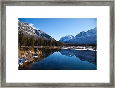 Eagle River Valley Framed Print