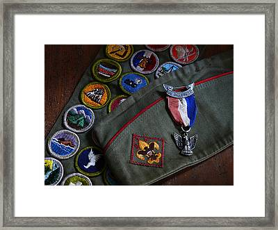 Eagle Scout Framed Print