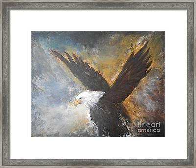 Eagle Spirit 2 Framed Print by Jane  See