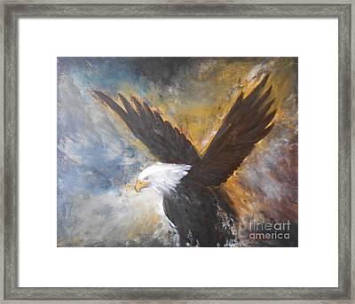 Eagle Spirit Framed Print by Jane  See