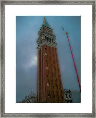 Eagle Tower Framed Print