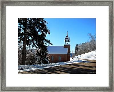 Eagle Valley Church Framed Print