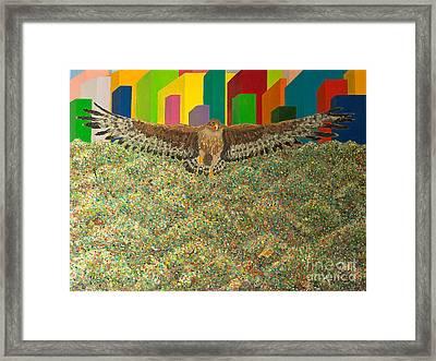 Eagle Framed Print by Vladimir Nazarov
