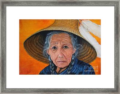 Wings Of Wisdom Framed Print