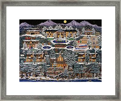 Framed Print featuring the painting Eaglecrest Resort by Jennifer Lake
