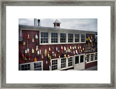 Eagles Nest Bar Harbor Framed Print