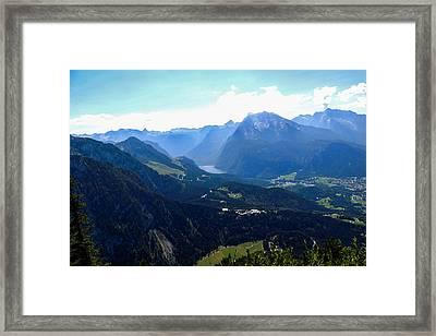 Eagle's Nest Vista Framed Print