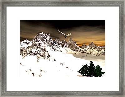 Eagles' Peak Framed Print
