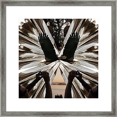 Eagle's Song Framed Print