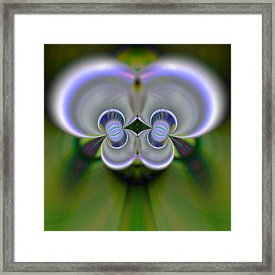 Ear Buds Framed Print by Bill King