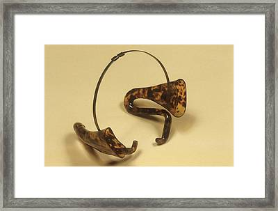 Ear Cornets With Headband Framed Print
