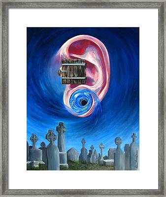 Ear To Hear Framed Print by Beth Smith