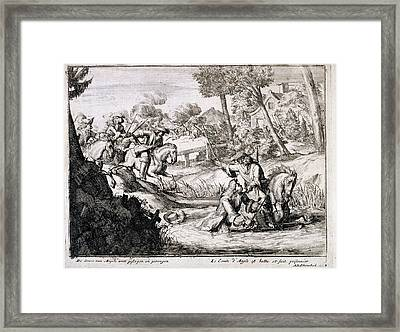 Earl Of Argyll Framed Print by British Library
