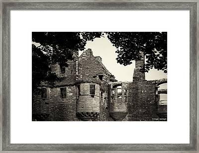 Earls Palace Orkney Framed Print