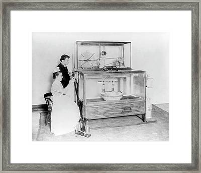 Early 20th Century Incubator Framed Print by Library Of Congress