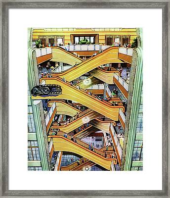 Early 20th Century Shop Escalator Framed Print by Cci Archives