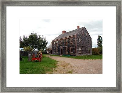 Early America Framed Print by Ron Haist