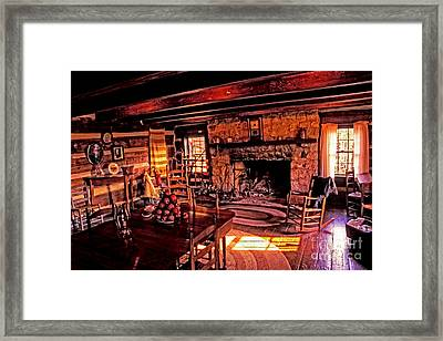 Early American Livingroom Framed Print by Paul W Faust -  Impressions of Light