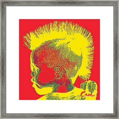 Early Ancestry Micro Me Portrait 11 Framed Print by Feile Case