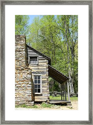 Early Appalachian Home Framed Print