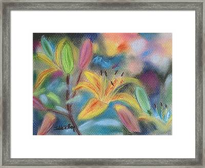 Early Arrival Lily Framed Print