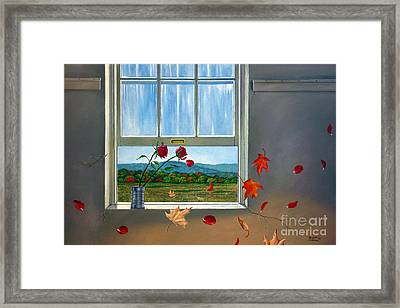 Early Autumn Breeze Framed Print