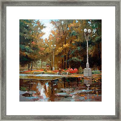 Early Autumn Framed Print by Dmitry Spiros