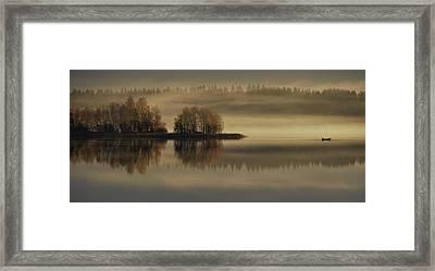 Early Autumn Morning Framed Print