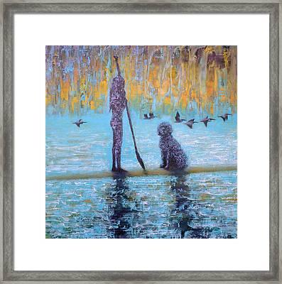 Early Birds Framed Print