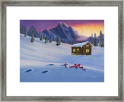 Early Christmas Morn Framed Print by Jack Malloch