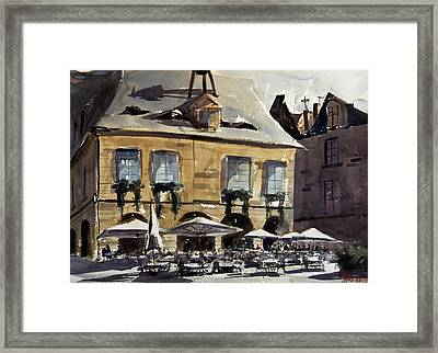 Early Customers Framed Print