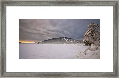 Early Dawn At Shawnee Peak Framed Print
