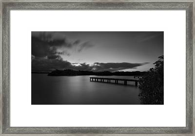 Early Dawn Framed Print by Tin Lung Chao