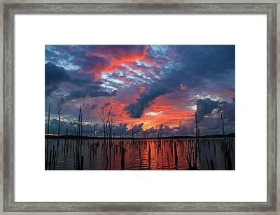 Early Dawns Light Framed Print