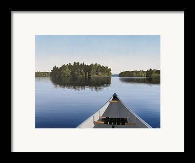 Canadian Landscape Framed Prints
