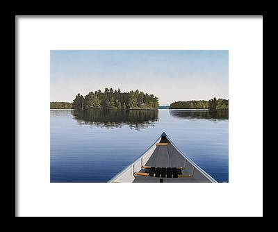 Canada Framed Prints
