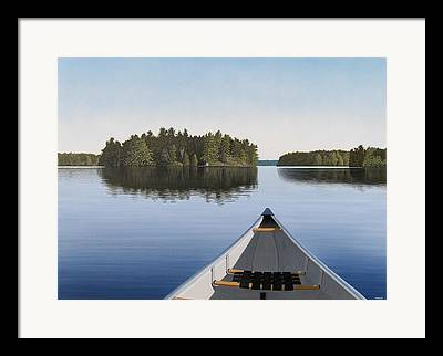 Ontario Framed Prints