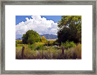 Early Fall Framed Print by Don Durante Jr