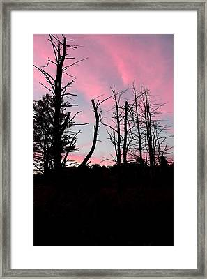 Early Fall Sky Vii Framed Print by Brian Lucia