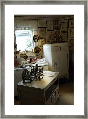 Early Fifty's Kitchen Framed Print by Randall Branham