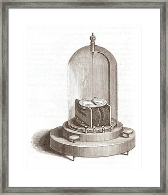 Early Galvanometer Framed Print