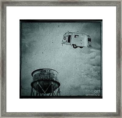 Early Historic Airstream Flight Framed Print by Edward Fielding