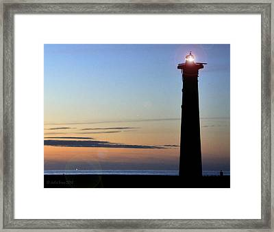 Framed Print featuring the photograph Early In The Morning by Julis Simo